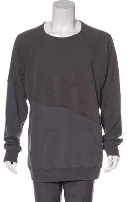 Greg Lauren 50/50 Hero Raglan Sweatshirt