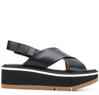 83dae75030ccc Black Criss Cross Sandals For Women - ShopStyle UK