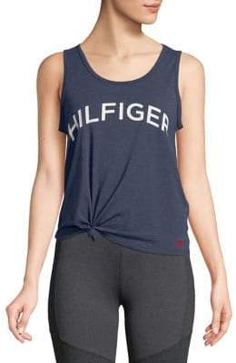 Tommy Hilfiger Performance Tie-Front Tank
