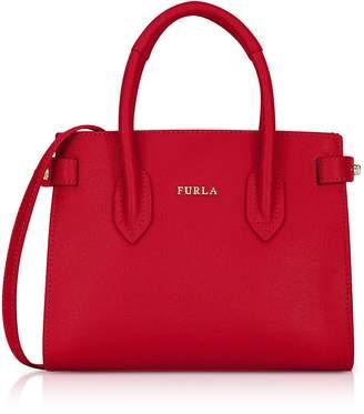 Furla Saffiano Leather Pin Mini Tote Bag
