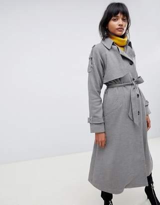 Asos Design DESIGN heritage check coat
