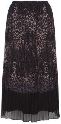 2bc583195b Mint Velvet Ellen Print Pleated Skirt