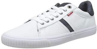 Levi's Footwear and Accessories Men's Skinner Trainers, (Regular White 51)