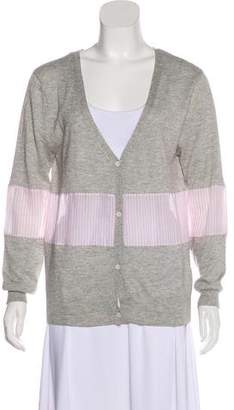Band Of Outsiders Silk Knit Cardigan
