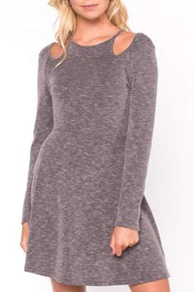 Everly Cutout Skater Dress