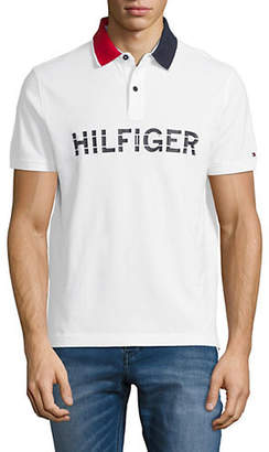 Tommy Hilfiger Mario Short-Sleeve Cotton Polo