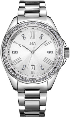 JBW Women's Capri Diamond & Crystal Watch