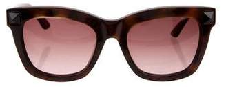Valentino Rockstud Cat-Eye Sunglasses