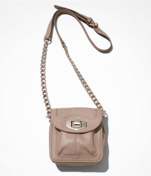 Express Turn Lock Mini Cross Body Bag