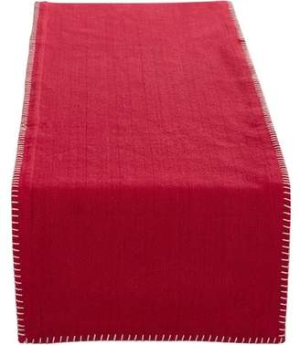 Three Posts Kaiser Whip Stitched Table Runner