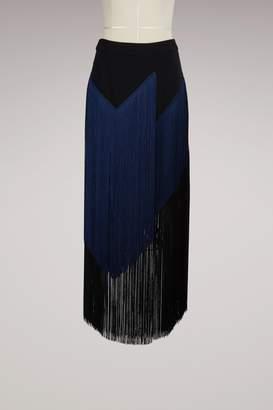 Stella McCartney Veronica Cady Stretch Maxi Skirt