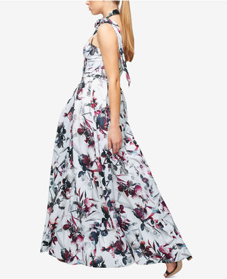 Fame and Partners Printed Maxi Dress $266 thestylecure.com