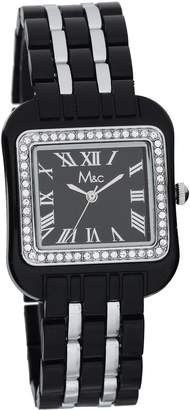 MC M&c Women's | Fashion Watch With Rhinestone Accents | FC0252