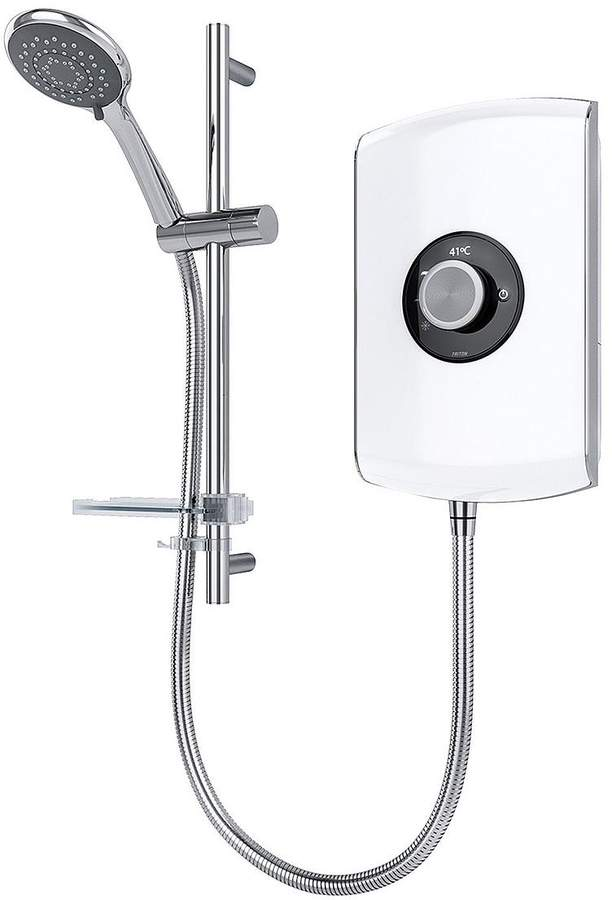 Amore 9.5kw Electric Shower – White Gloss