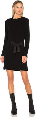 525 America Asymmetric Sweater Dress