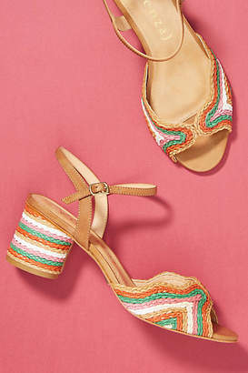Vicenza Peep Toe Heeled Sandals