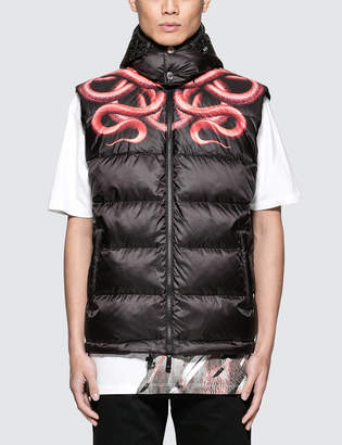 Marcelo Burlon County of Milan Snake Down Jacket