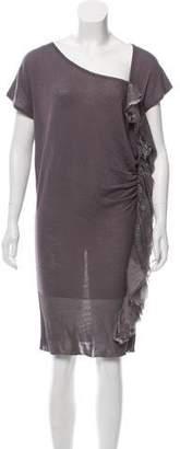 Just Cavalli Knit Knee-Length Dress