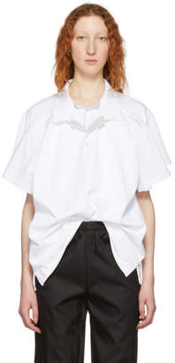 Y/Project White Double Layer Polo