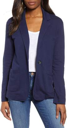 Caslon Two Pocket Knit Blazer