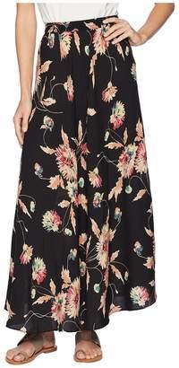 Chaps Printed Rayon Stripe Skirt Women's Skirt