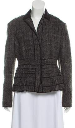 Philosophy di Alberta Ferretti Wool-Blend Knit Jacket