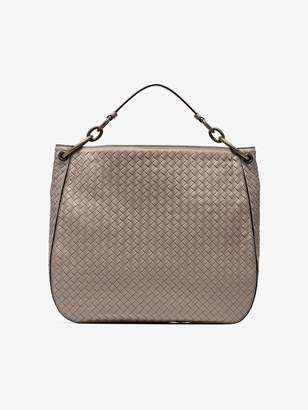 Bottega Veneta nude loop large leather tote bag
