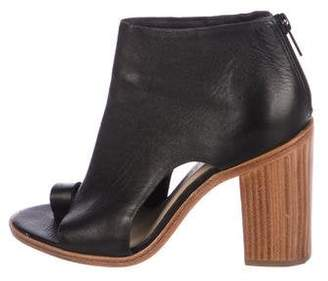 Loeffler Randall Leather Cutout Boots