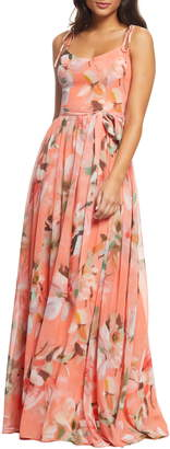 Dress the Population Hollie Floral Maxi Dress