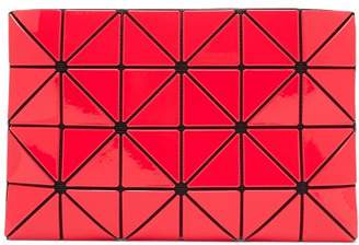 Bao Bao Issey Miyake Lucent Two Tone Flat Pouch - Womens - Red Multi