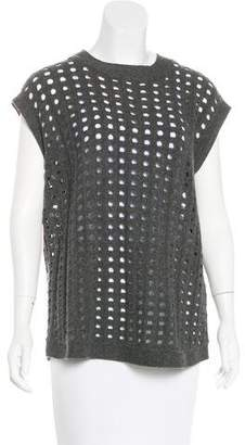 Robert Rodriguez Sleeveless Wool Sweater