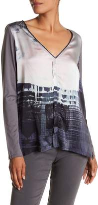 Go Silk go > by GoSilk Go Long & Lean Printed Silk Tunic