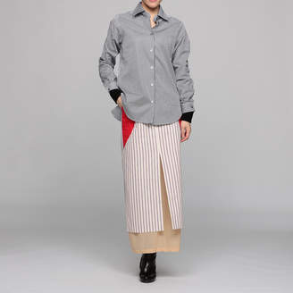 Aalto アールト SHIRT WITH DOUBLE SLEEVES