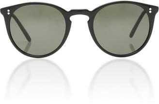 Oliver Peoples Fairmont Round Sunglasses