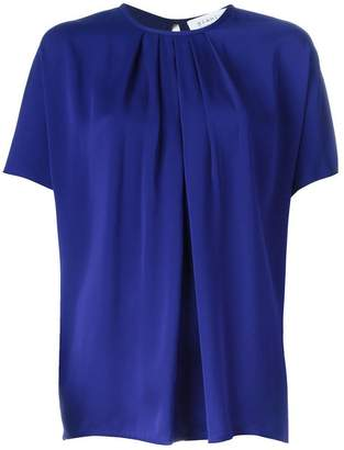 Gianluca Capannolo pleated front blouse
