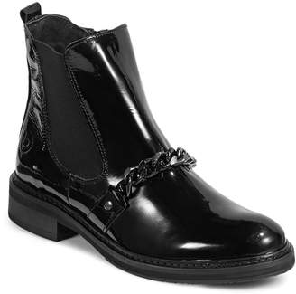 Bugatti Valera Patent Leather Ankle Boots