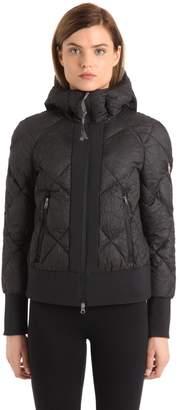 Wrinkled Nylon Down Jacket