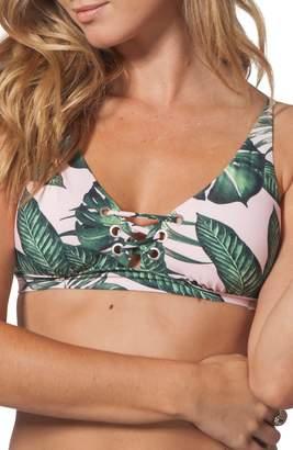 Rip Curl Palm Beach Lace-Up Bikini Top