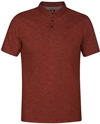 Hurley Men's Nike Dri-Fit Textured Short Sleeve Polo