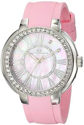 Oceanaut Women's OC6419 Allure Analog Display Quartz Pink Watch