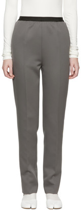 Maison Margiela Grey Pull-On Trousers