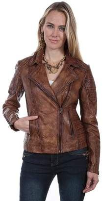 Scully Quilted Moto Jacket
