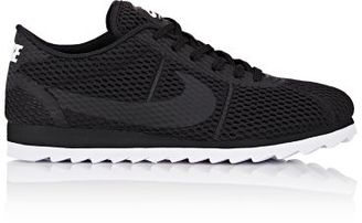 Nike Women's Cortez Ultra BR Sneakers-BLACK $100 thestylecure.com