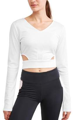 Dance 2LIV Women's Long Sleeve Ballet Crop Top