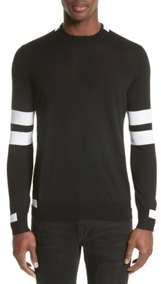 Men's Givenchy Wool Stripe Pullover $685 thestylecure.com