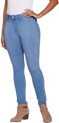 Laurie Felt Silky Denim Skinny Ankle Pull-On Jeans