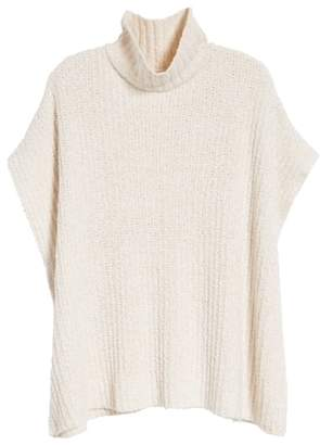 Lou & Grey Ribbed Poncho Sweater