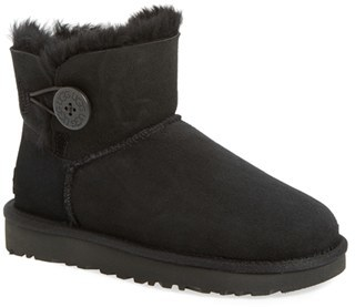 UGG ® 'Mini Bailey Button II' Boot $139.95 thestylecure.com