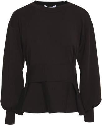 Agnona (アニオナ) - Agnona ベルト付き ウール ペプラムセーター