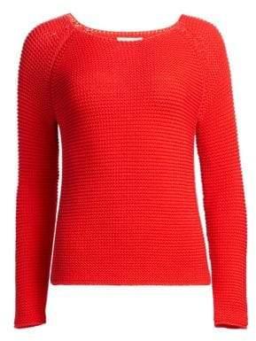 Fabiana Filippi Open Stitch Boatneck Sweater